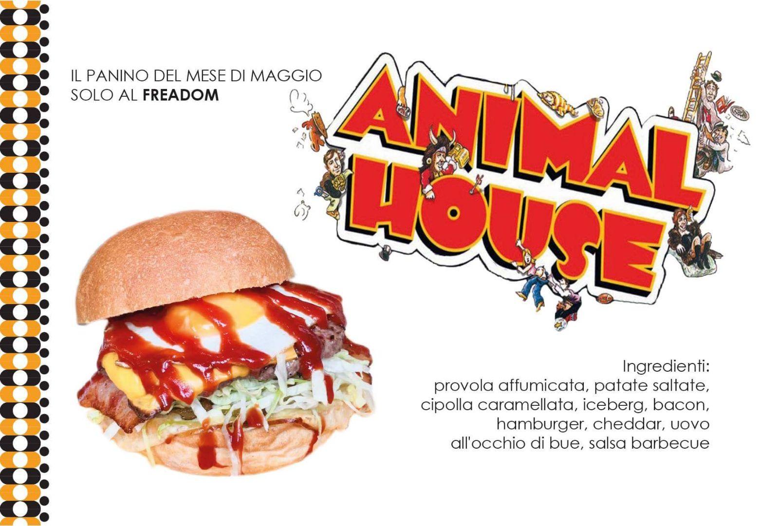 Il panino del mese di maggio: ecco a voi l'animal house.