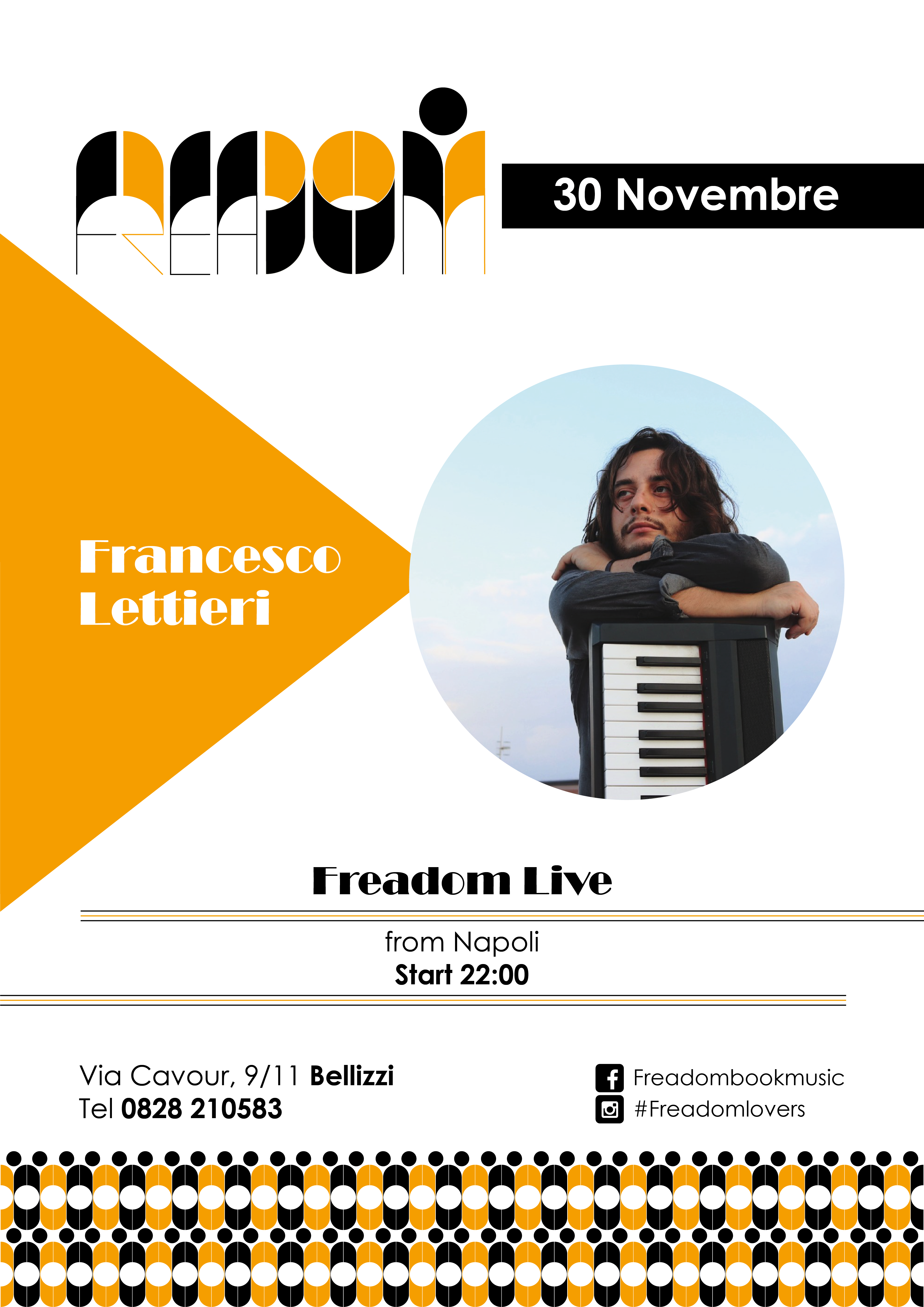 Francesco Lettieri live al Freadom