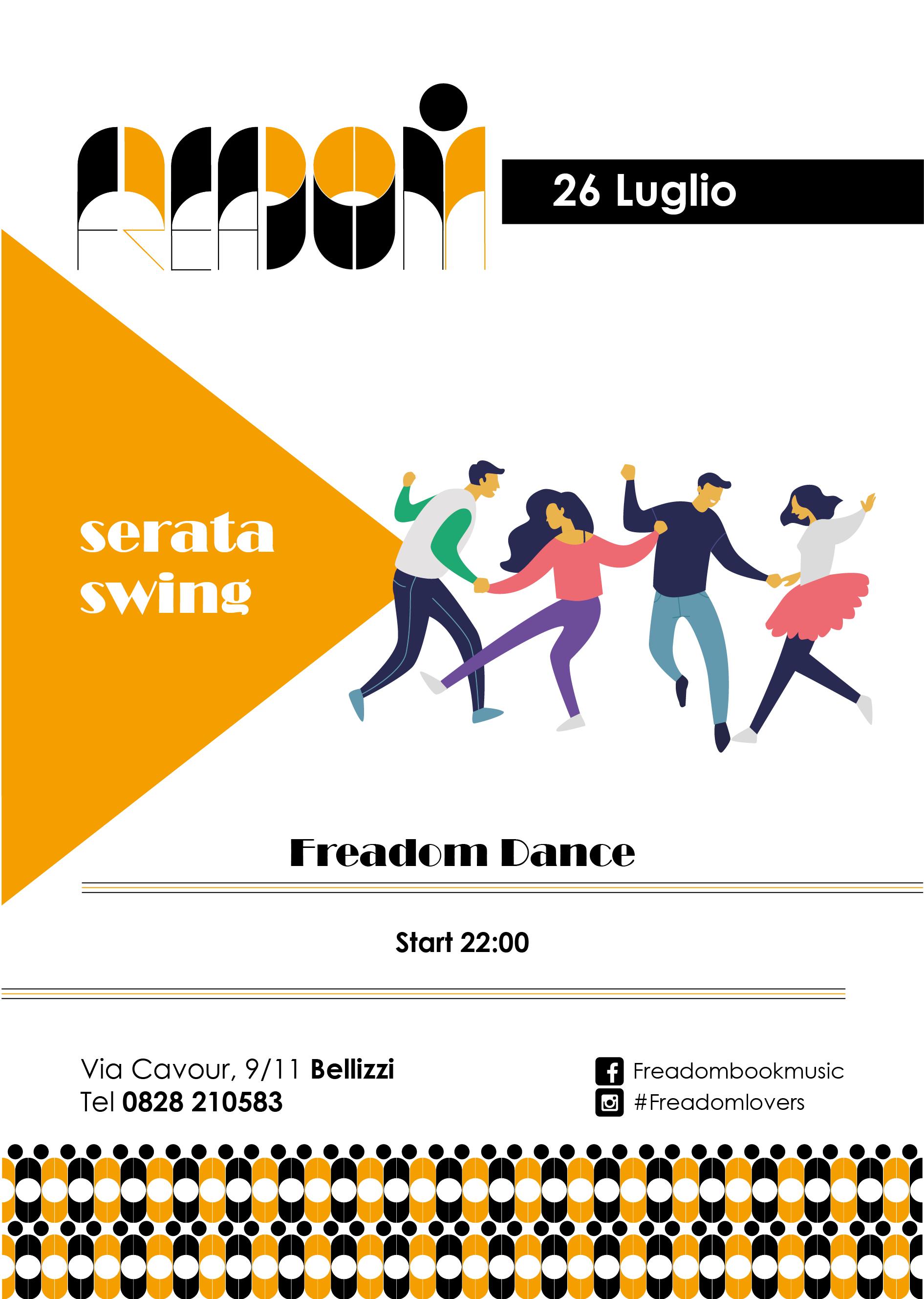 Serata swing al Freadom
